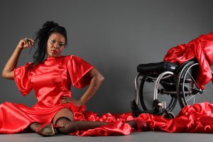Anne Wafula Strike on PushLivingPhotos 300x200 - The lady in red