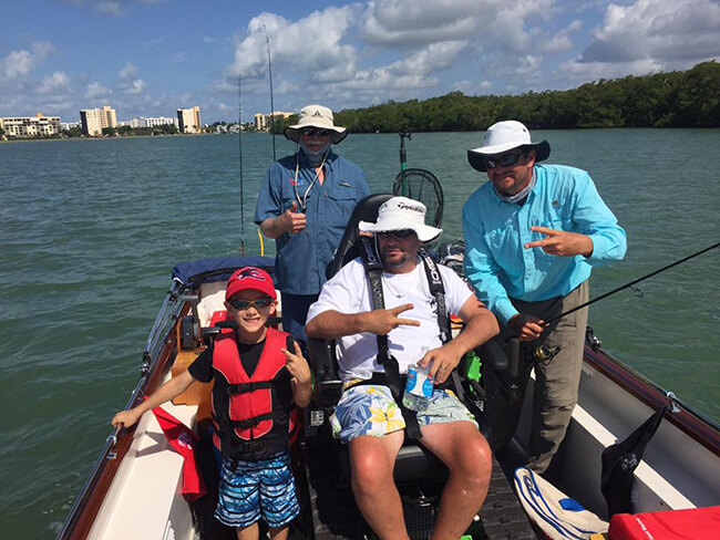 Boatload of Fun - SW Florida Wheelchair Accessible Fishing Adventure