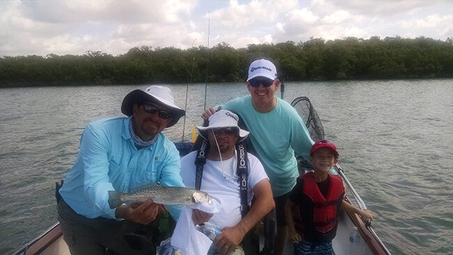Spotted Trout - SW Florida Wheelchair Accessible Fishing Adventure