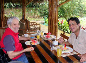 breakfast - Andes & Amazon A Wheelchair Accessible Travel Adventure - 12 Days Tour