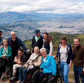 day3 - Andes & Amazon A Wheelchair Accessible Travel Adventure - 12 Days Tour
