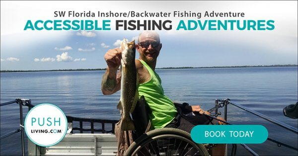 Sw florida wheelchair accessible fishing adventure for Florida 3 day fishing license