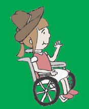 "kathwithcap - From Sitting to Flying: ""How do you feel when you see me being in a wheelchair?"""