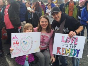 Kristina Rhoades with husband Jacob and daughter 300x225 - Kristina Rhoades with husband Jacob and daughter