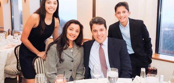 Scott Chesney with Family