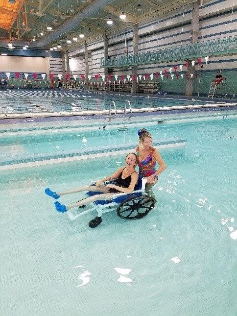 swim13 - Splashing Back into the Water: How I was going to swim again as a C6 quadriplegic