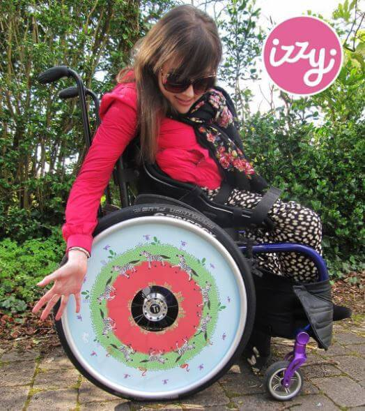 izzy2 1 - The PUSH Lifestyle: Wheelchair Accessories