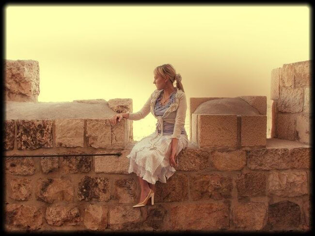 Ariella Barker in Israel