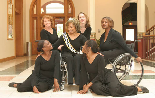 Ms. Wheelchair Illinois - Sassy, Single and 66! Changing Perceptions of What a Woman Her Age with a Disability, Can and Will Do!