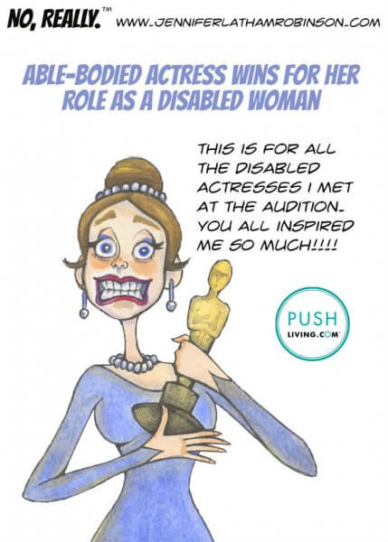 And the award goes to 429x600 - PUSHLiving Comic Strip: AND THE AWARD GOES TO