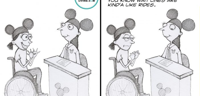 comics strips for Disability Awareness