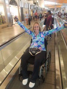 20180705 105726 225x300 - Ali on power wheelchair