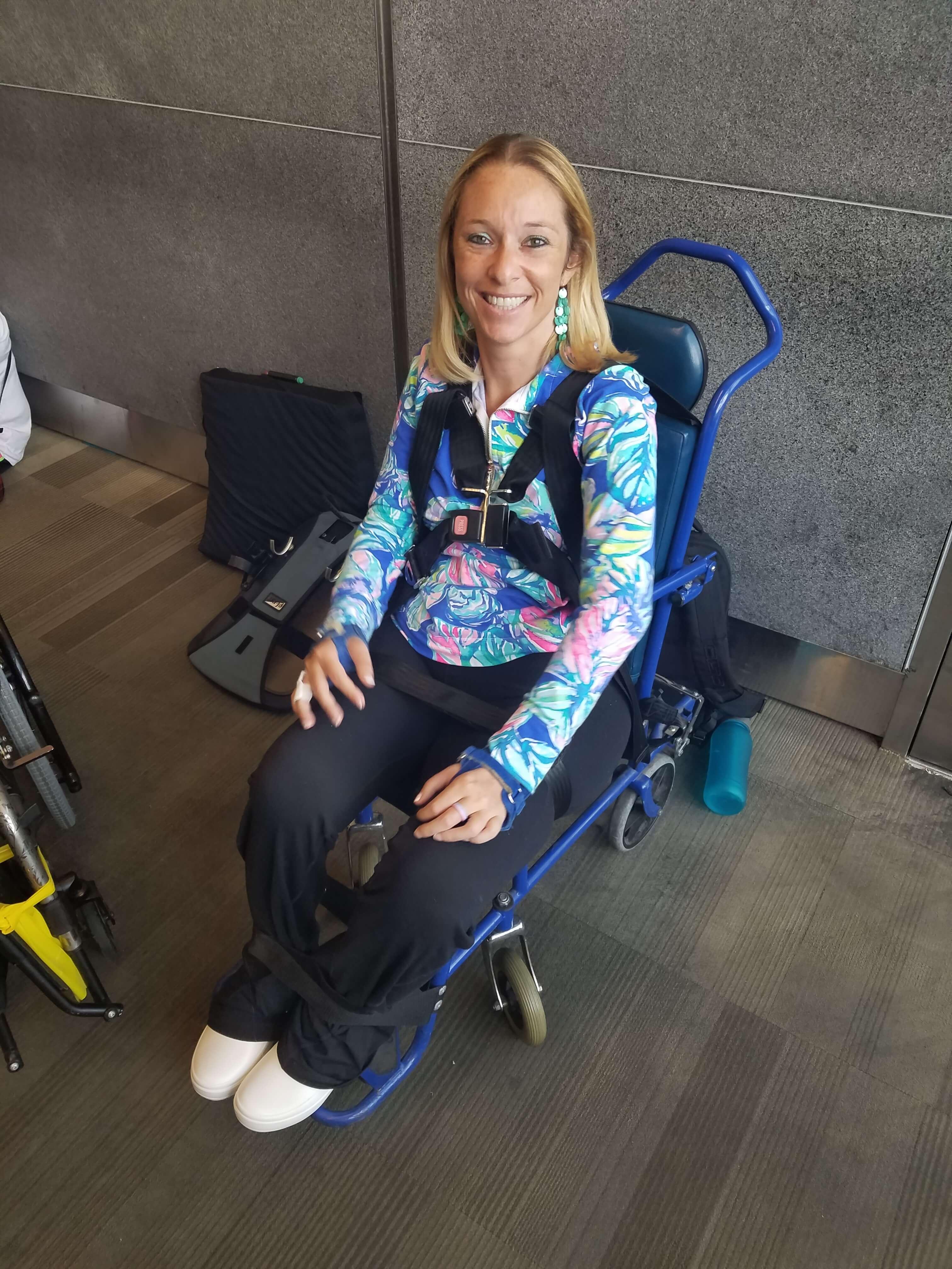"""20180705 120703 - Wheelchair Air Travel – """"Quad"""" Style"""