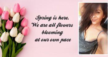 Spring is here poem