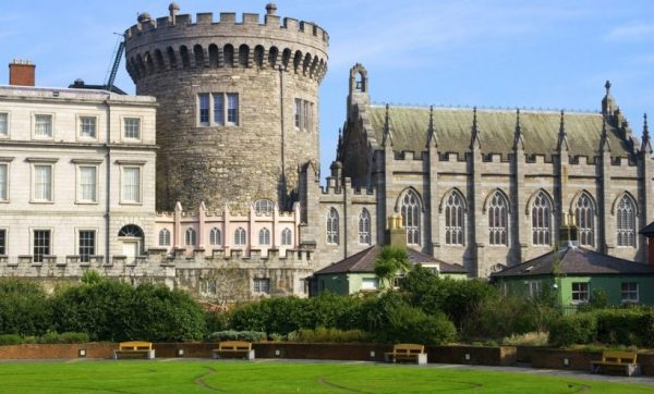 Dublin Castle 600x362 - Wheelchair Accessible Ireland Tour - Join Us In One of the Most Loved Countries