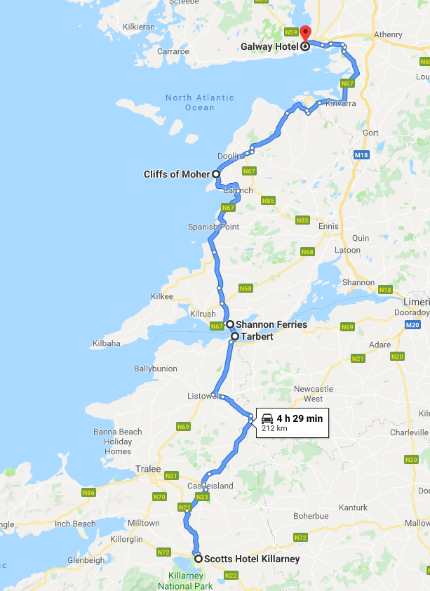 Galway drive - Wheelchair Accessible Ireland Tour - Join Us In One of the Most Loved Countries