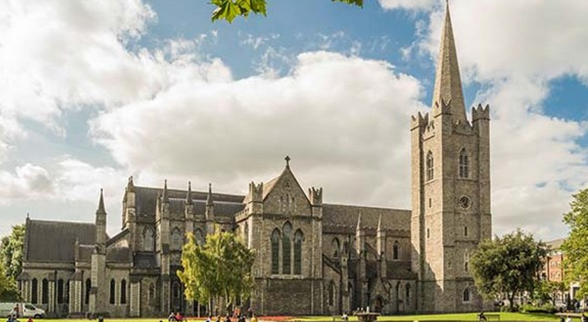 St. Patricks Cathedral Park - Wheelchair Accessible Ireland Tour - Join Us In One of the Most Loved Countries