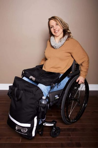 A woman in a wheelchair at home 400x600 - Disabled Female Entrepreneur Spotlight: Searching for Independence