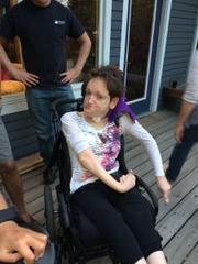 Hannah Rehner medium - QuadShox Wheelchair Suspension Shocks Review