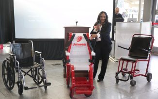Jetweels is a fashinable way to carry disabled persons 326x205 - Wheelchair Accessible Lifestyle Magazine