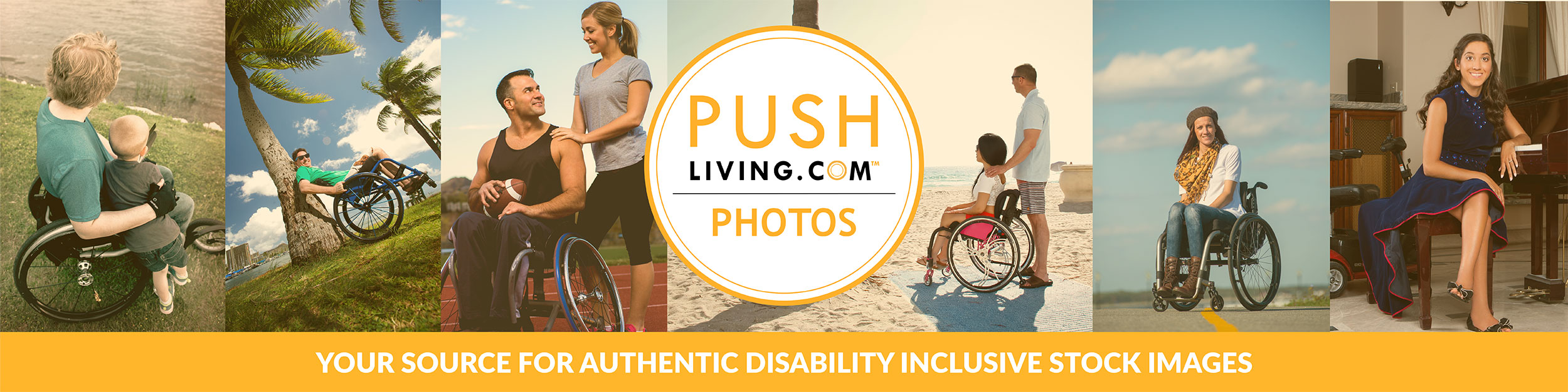 Pushliving Photos - Your source for authentic disability inclusive stock images