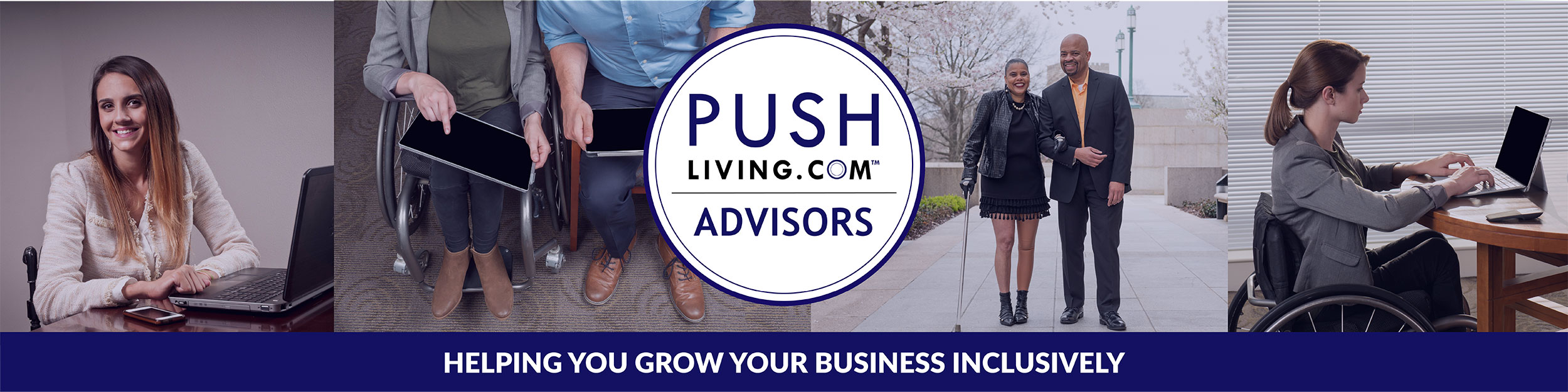 Pushliving Advisors - Helping you grow your business inclusively