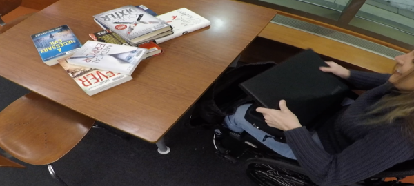 laptop out of bag 600x270 - Disabled Female Entrepreneur Spotlight: Searching for Independence