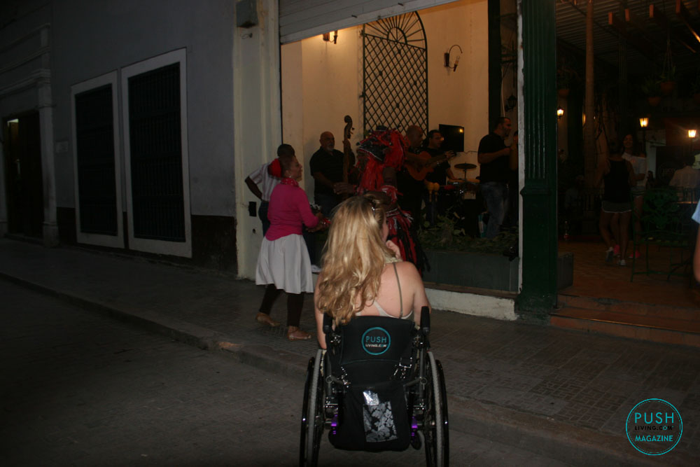Debora at Cuba 17 1 - Wheelchair Travel: Cuba Libre? How Free is Cuba for Travelers on Wheels?