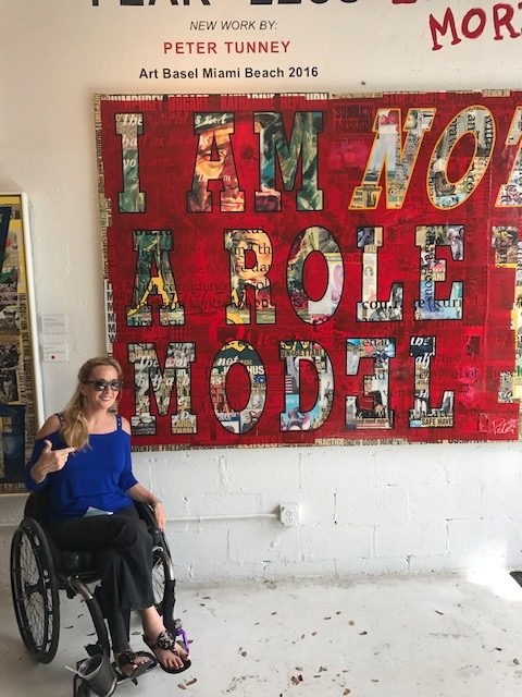 Deborah Davis at Wynwood Miami e1561001608796 - Where to Roll in Town:  A Wheelchair Users Guide to What is Hot and Trending in Travel