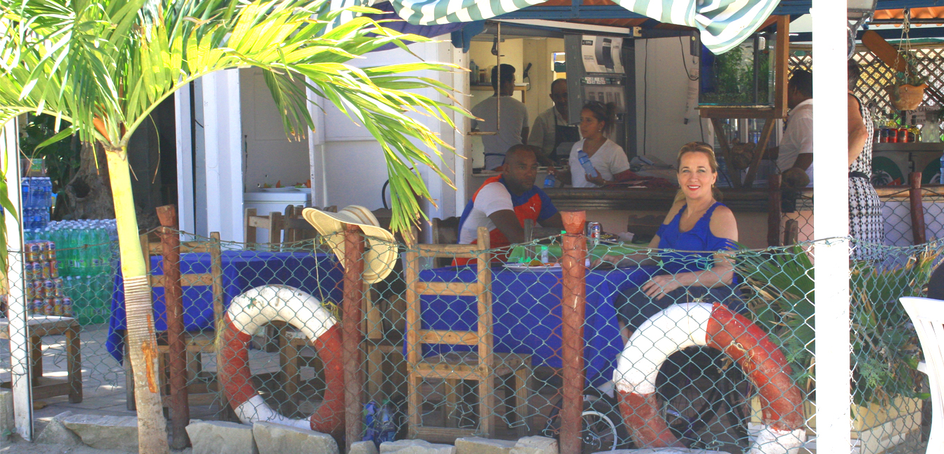 Deborah Davis with her ex husband at Cuba - Wheelchair Travel: Cuba Libre? How Free is Cuba for Travelers on Wheels?