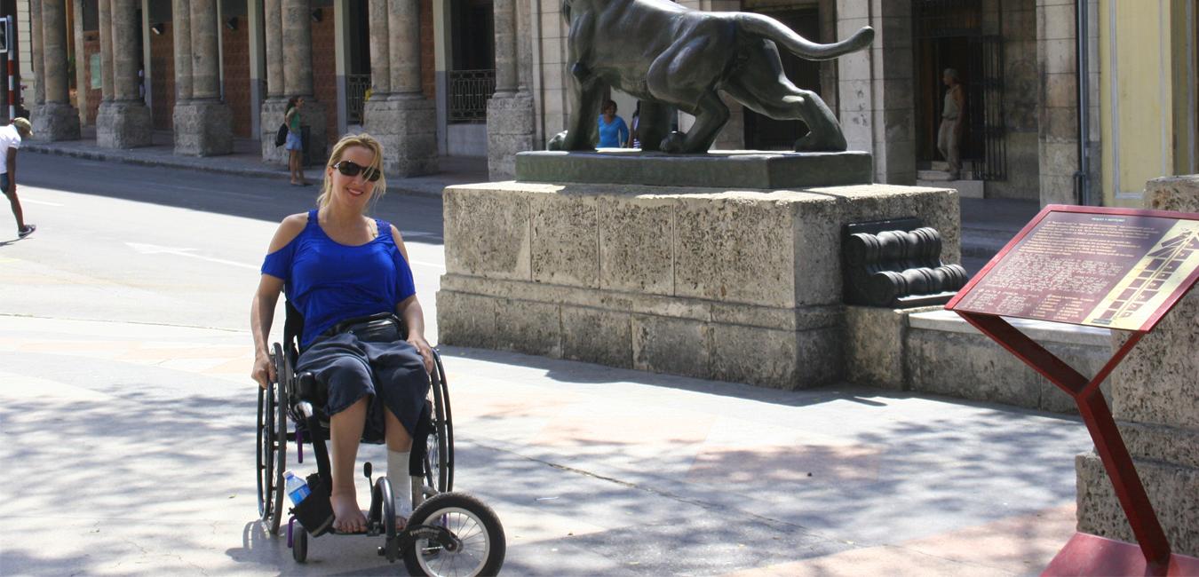 Deborah in Cuba - Wheelchair Travel: Cuba Libre? How Free is Cuba for Travelers on Wheels?