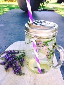 Water with a few slices of cucumber some mint leaves lemon and lavender 9 healthy living tips for wheelchair users 225x300 - Water with a few slices of cucumber, some mint leaves, lemon and lavender - 9 healthy living tips for wheelchair users