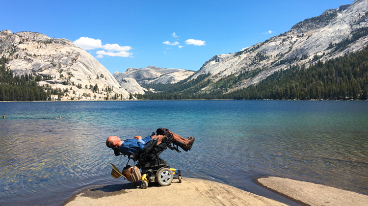Wheelchair Travel in the Tuolomne Meadows
