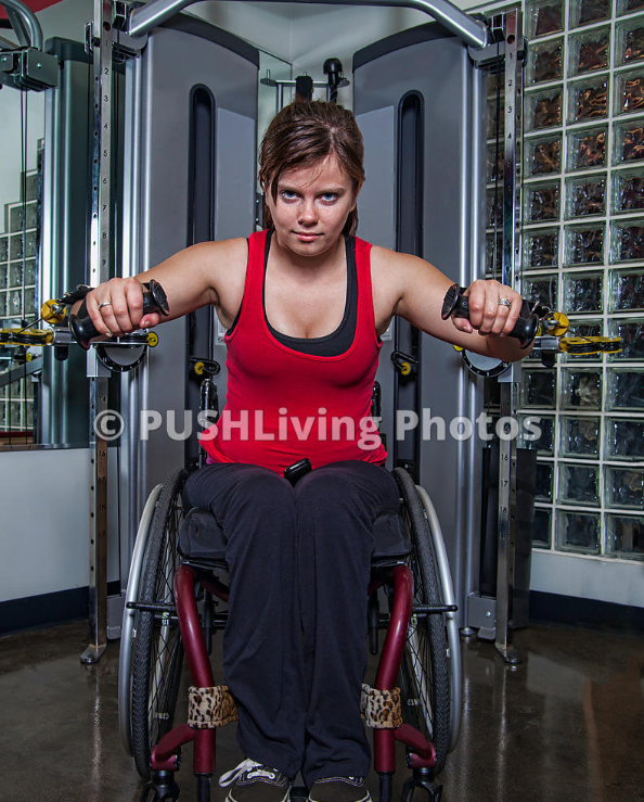 Woman in wheelchair doing exercises - On the Move to a Healthier Lifestyle: Exercising Advice for Wheelchair Users