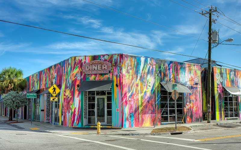 Wynwood Diner - Where to Roll in Town: A Wheelchair Users Guide to What is Hot and Trending in Travel