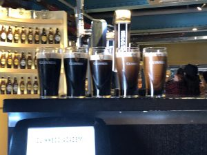 38a2f685 de9c 4911 926f 7da5c3d4ae83 300x225 - Pouring beers during our accessible tour at the Guinness Factory.