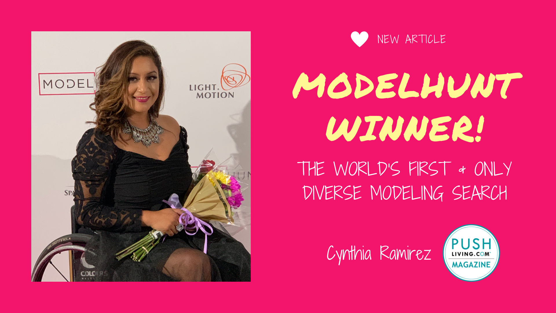 ModelHunt Winner Cover - ModelHunt Winner! The World's First and Only Diverse Modeling Search