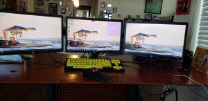 Front monitor set up 300x146 - Front-monitor-set-up