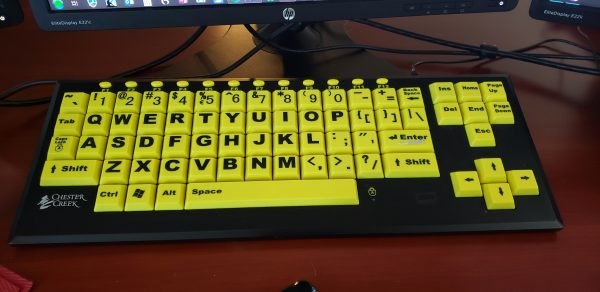 Keyboard 600x292 - Adaptive Technology Life Hacks