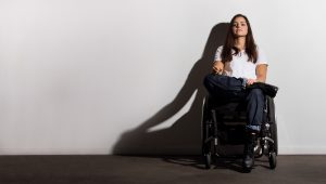 PL BSIZEDL original 300x170 - Woman in a wheelchair in the studio