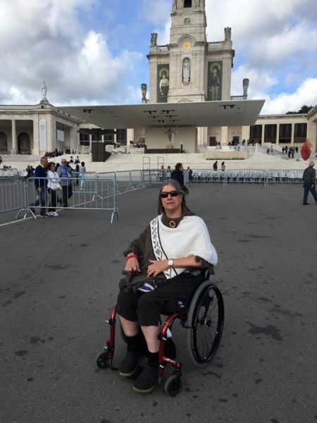 FatimaPortugal 450x600 - PUSHLiving Podcast #26: Wheelchair Travel Guide for Yearning Travelers with Lilly Longshore