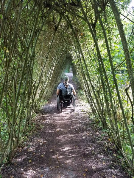 GardensAtBlarneyCastleIreland 450x600 - PUSHLiving Podcast #26: Wheelchair Travel Guide for Yearning Travelers with Lilly Longshore
