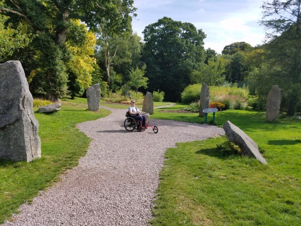 GardensAtBlarneyCastleIreland2 600x450 - PUSHLiving Podcast #26: Wheelchair Travel Guide for Yearning Travelers with Lilly Longshore
