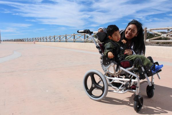 3 Karim and mother 600x400 - PUSHLiving Podcast #30: Assistive Products: For Everyone, Everywhere with Keoke King