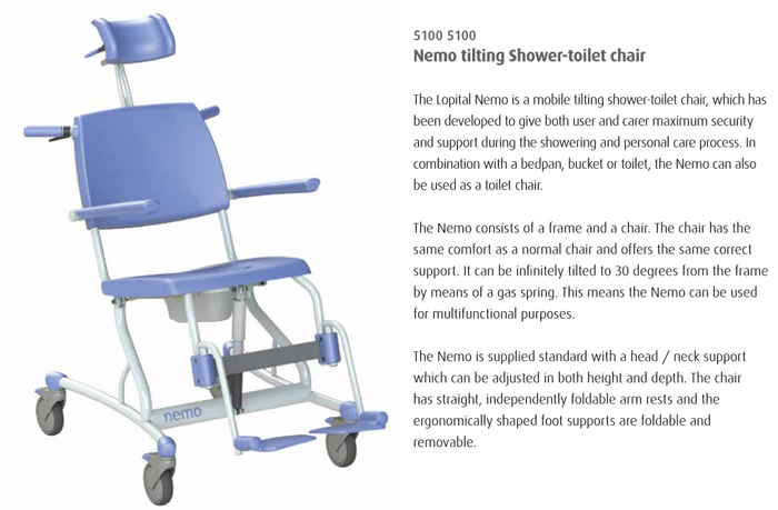 shower chair Nemo - Health Insurance Approval for Specialized Shower Chair - Unexpected Win!