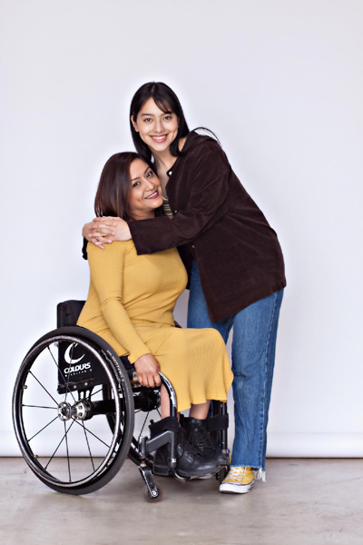 me and brie - Spinal Cord Injury Awareness Month
